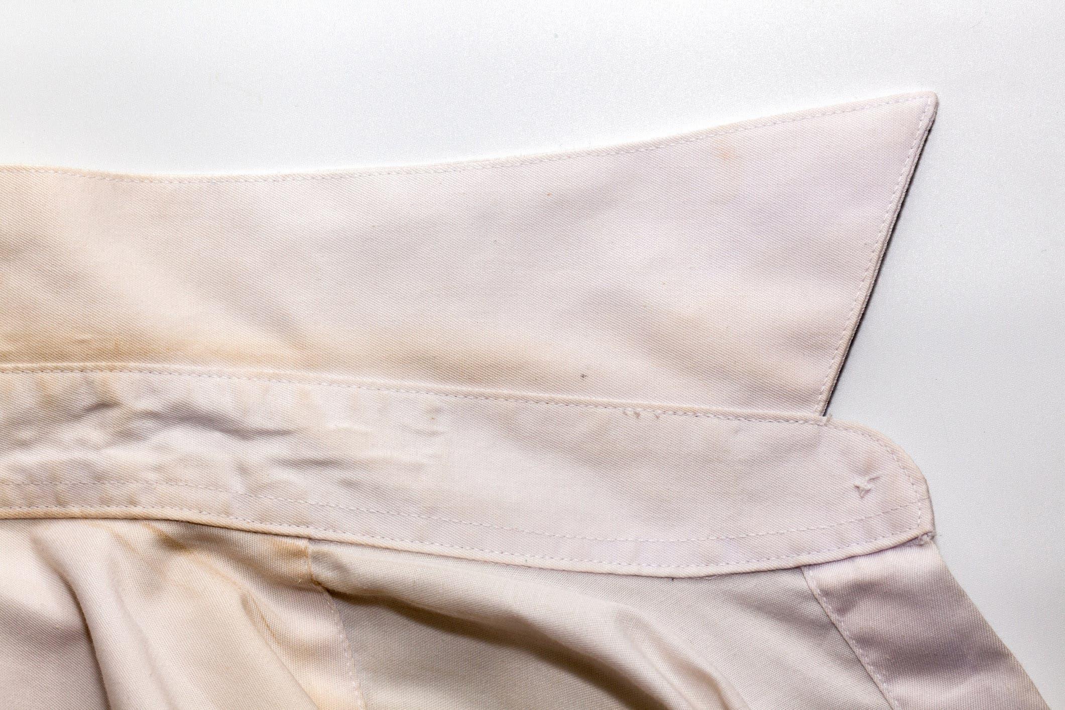 chemise abimée
