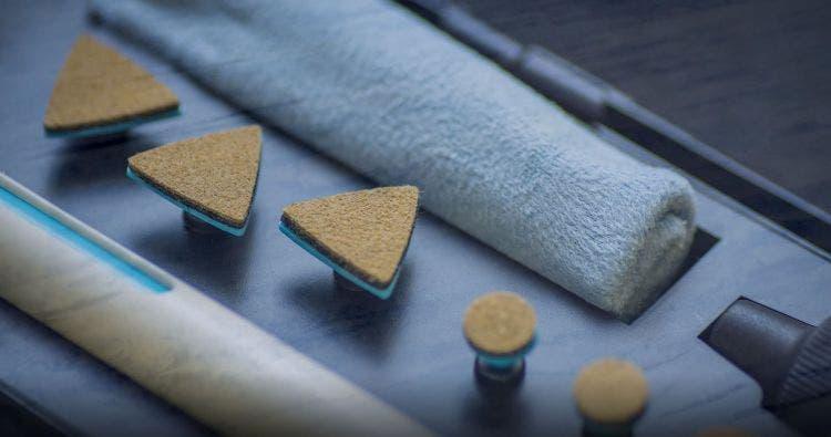 Le kit anti-rayures diminue le risque de rayures