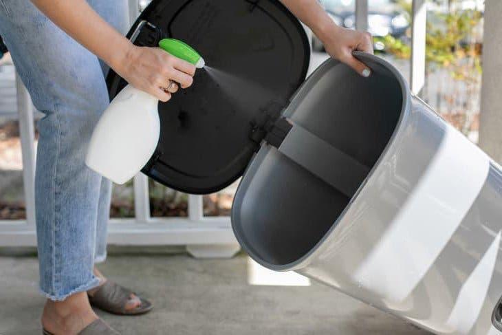 laver les poubelles