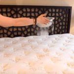 3 hausgemachte Tipps zur chemischen Reinigung und Desinfektion einer Matratze